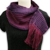 Valley Yarns #55 Charlemont Lace Scarf (Free Draft)