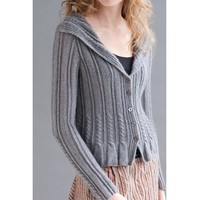 Sounds of Silence Cardigan Kit