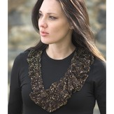 Plymouth Yarn 2188 Eros II Ridged Necklace Kit