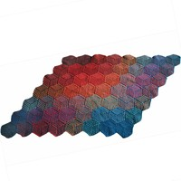 255 Illusion Cube Blanket