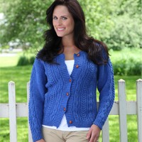 320 Alar Cabled Cardigan