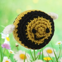 375 Crocheted Bumblebee Kit (Free Pattern)