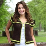 Valley Yarns 393 Bartholomew's Cobble Vest Kit