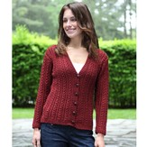 Valley Yarns 396 Masonic Street Cardigan Kit