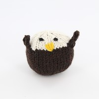 412 Knit Bald Eagle Kit (Free Pattern)