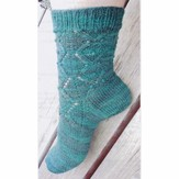 Lorna's Laces Aran Counterpane Sock