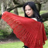 Anne Kuo Lukito Weekend Shawl PDF