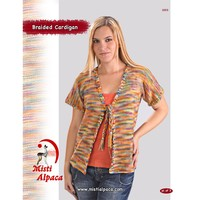 1003 Braided Cardigan PDF