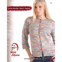 1004 Circle Border Short Jacket PDF
