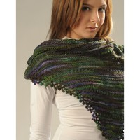 2048 Fancy Fingering Shawl (Free)