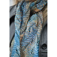 Undulating Waves Scarf PDF
