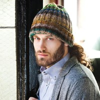 Man's Ribbed Hat PDF