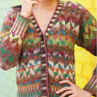 Colorwork Cardigan PDF
