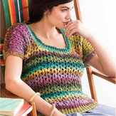 Noro Lace Pattern Top PDF