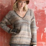 Noro Striped Pullover PDF