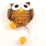 Lantern Moon Baby Owl Tape Measure