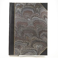 Marbled Blank Journal