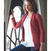 2114 Woman's Pocket Front Cardigan