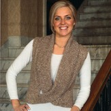Plymouth Yarn 2160 Woman's Cowled Vest