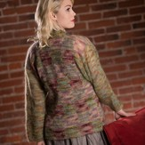 Plymouth Yarn 2600 Women's Patchwork Jacket