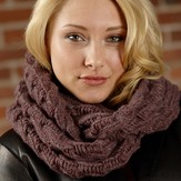 Plymouth Yarn 2606 Infinity Cowl (Baby Alpaca Aire)
