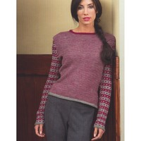 2711 Ladies Single Row Stripe Pullover