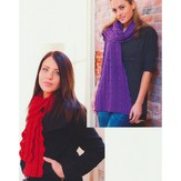 Plymouth Yarn 2746 Bell Lace Stole & Scarf