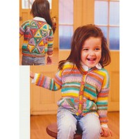 2776 Baby & Child's Hexagon Cardigan