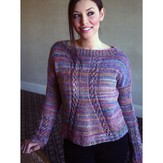 Plymouth Yarn 2891 Women's Pullover