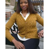 Plymouth Yarn 2896 Women's Cardigan
