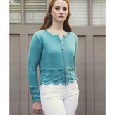 Plymouth Yarn 2943 Women's Cardigan