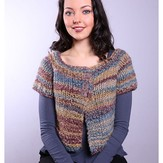 Plymouth Yarn 3017 Women's Top Down Raglan Cardigan