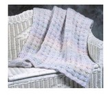 Plymouth Yarn P279 Baby Afghan in 3 Sizes