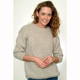 Plymouth Yarn P428 Unisex Pullover