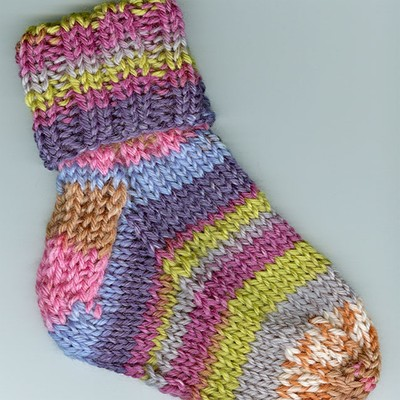 FREE KNITTING PATTERN FOR BABY SOCKS   KNITTING PATTERN