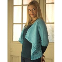 F473 Encore Worsted Women's Draped Cardigan (Free)
