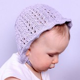 Plymouth Yarn F713 Baby Bonnet (Free)