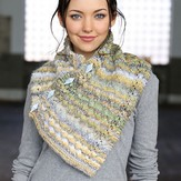 Plymouth Yarn F727 Buttoned Cowl (Free)