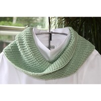 Short Ribbed Cowl