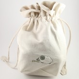 Lantern Moon Embroidered Ram Project Bag