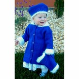 Knitting Pure & Simple 254 Little Girl's Dressy Coat