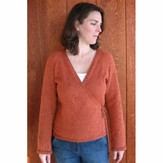 Knitting Pure & Simple 263 Wrap Cardigan Top Down
