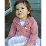 Knitting Pure & Simple 275 Child's Neck Down Bolero