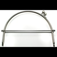 "Snap Purse Frame, 8"" with Loops"