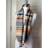 Linen Striped Cowl PDF