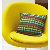 Rowan Dot Stripe Cushion (Free)