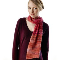 Twisted Drop Stitch Scarf (Free)