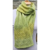 Rowan Smiling Diamonds Lace Scarf PDF