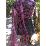 Fyberspates Lacy Pineapple Blossom Shawl