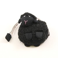 Sheep Tape Measure Black